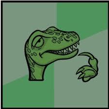 Meme Generator Velociraptor - raptor blank template imgflip