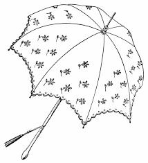 Clip Umbrella Vintage Baby Shower Umbrella Clip Art Black And White Parasol