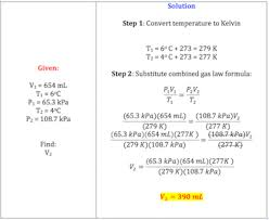 combined gas law definition formula u0026 example video u0026 lesson