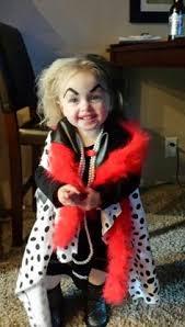 Toddler Dalmatian Halloween Costume Curella Deville Toddler Costume Diy Halloween Ideas