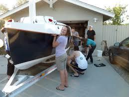 trailer garage coming out party sean u0027s pocketship
