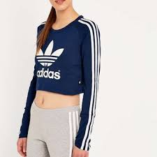 adidas crop top sweater adidas crop top sweater on sale off45 discounts