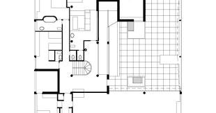 Villa Savoye Floor Plan Villa Savoye Second Floor Plan Floor Plans Pinterest Villor