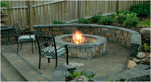 Backyard Fire Pit Lowes by Backyards Beautiful Fireplace Backyard Outdoor Fireplace Cost Nz