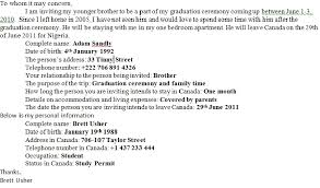 Wedding Invitation Letter For Us Visitor Visa prepasaintdenis resume cover letter template docx