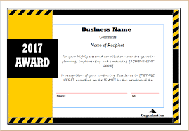 award certificate sample template for ms word document hub