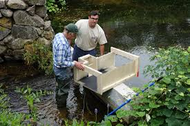 experimental video monitoring installed at stony brook herring run
