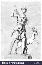 white marble statue of the ancient greek goddess athena pallas
