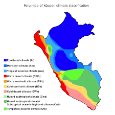 Equator Map South America by Climate Of Peru Wikipedia