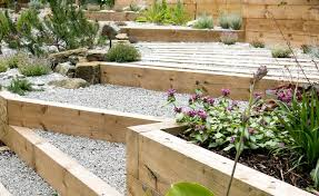 Sloped Garden Design Ideas Generous Sloped Garden Design Images Landscaping Ideas For