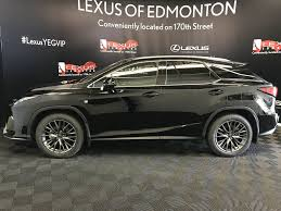 lexus black new 2017 lexus rx 350 4 door sport utility in edmonton ab l14071
