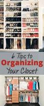 6 tips to organizing your closet brick u0026 glitter