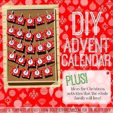 southern in law diy christmas advent calendar plus christmas