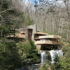 enjoy the dazzling art collections at fallingwater kentuck knob