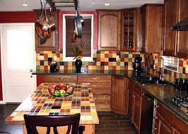 brick inexpensive kitchen backsplash ideas modern kitchen