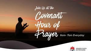 daily convenant hours of prayer winners chapel international
