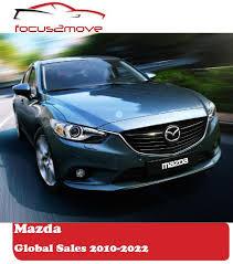 mazda worldwide sales focus2move mazda global performance 2017 by region model