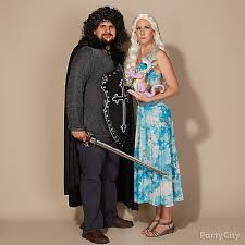 Games Thrones Halloween Costumes Game Thrones Couples Costume Idea Couples Group Halloween