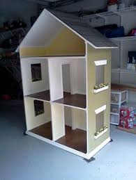 My Homemade Barbie Doll House by Diy Doll House Would Be Cute If You Put Chicken Wire On The Front