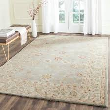 Safavieh Rug by Safavieh Antiquity Grey Blue Beige 6 Ft X 9 Ft Area Rug At822a 6
