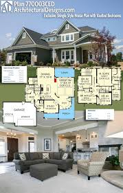 plan 770003ced exclusive shingle style house plan with vaulted