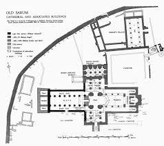 Salisbury Cathedral Floor Plan Old Sarum British History Online