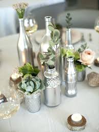 resell wedding decorations innovative wine bottle centerpieces