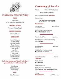 Wedding Ceremony Program Template Free Catholic Wedding Ceremony Program Templates Free Wedding