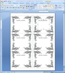 label templates for word free word sticker template complete guide exle