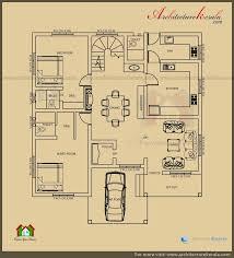 architech ground single house plan imanada architecture kerala