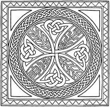 celtic mandala coloring pages drawings celtic mandala