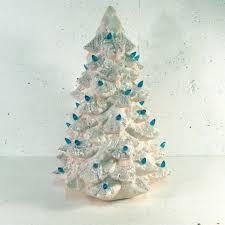 ceramic christmas tree with lights cracker barrel 162 best ceramic christmas trees images on pinterest ceramic
