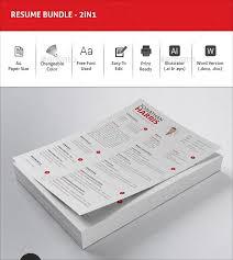 Illustrator Resume Templates Top 11 Professional Resume Templates For Making The Perfect Resume