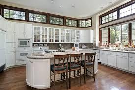 rounded kitchen island 50 luxury kitchen island ideas