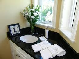 black granite bathroom countertops traditional bathroom