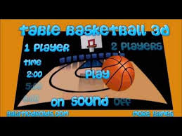 Table Basketball Table Basketball 3d Free Game For Your Phone Tablet Or Browser