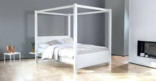 ikea white four poster bed frame ashley 4 poster single bed frame