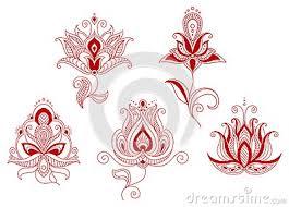 Indian Flower Design Indian Flower Design 61911 Flashtop