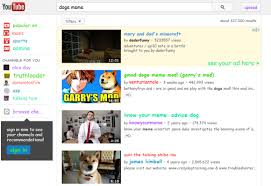 Doge Meme Youtube - youtube easter egg for doge meme
