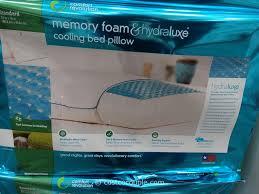 memory foam bed pillows comfort revolution hydraluxe gel memory foam bed pillow home