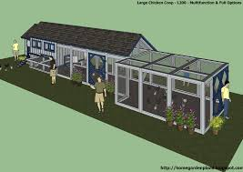 home garden plans l200 large chicken coop plans how to build