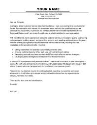 ideas of customer service representative cover letter entry level