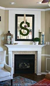 fireplace decorating ideas best 25 over fireplace decor ideas on pinterest mantle