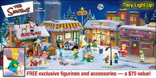 the simpsons collectible villages and