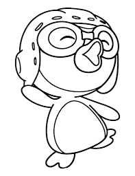 pororo coloring sheet kids coloring pages kids
