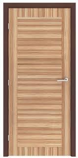 Interior Doors Ontario Zebrawood Ontario Flush Interior Door
