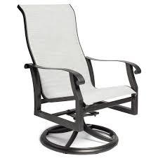 Woodard Cortland Cushion Patio Furniture Woodard Cortland Sling Swivel Rocker All Things Barbecue