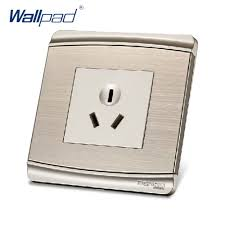 luxury power outlets 3 pins 16a socket outlet free shipping 2017 sale china