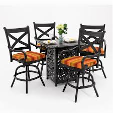 Bar Height Patio Table And Chairs by Innovative Bar Height Patio Table And Swivel Chairs Creative