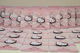Invitation Card Hello Kitty Jingvitations Hello Kitty